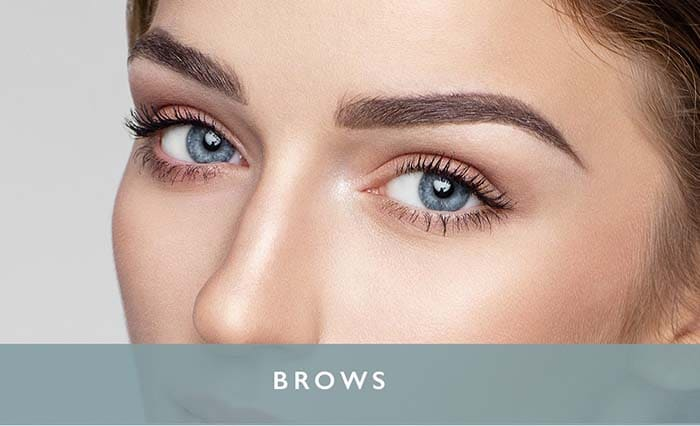 eyebrow permanent makeup Microblading and ombre brows