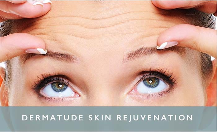 Skin treatment rejuvenation dermatude